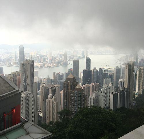 6月21日ブログ香港全景1