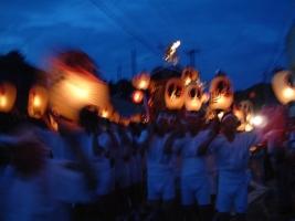 白河提灯祭り