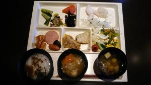 岳温泉朝食