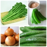 6月八重の日野菜