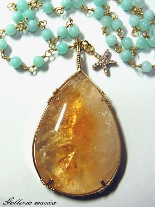 Wire wrapped…
