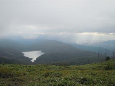 大菩薩湖、上日川ダム160927