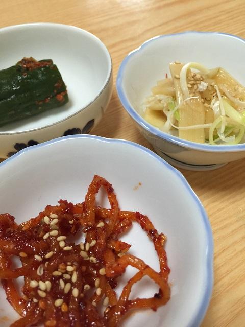 韓国料理 プクチョンマウル 小鉢