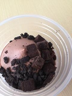 ウチカフェフラッペ チョコレートケーキ2