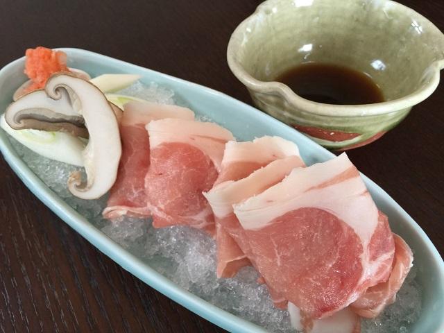 日本料理 いずみ 桜美豚
