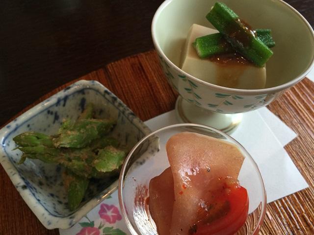 日本料理 いずみ 前菜