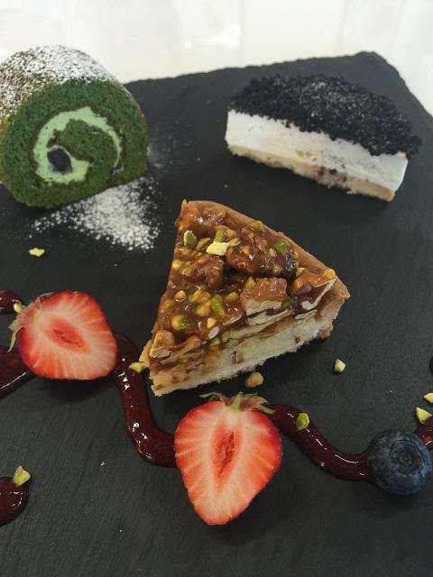 カフェ デ オラ 米粉のケーキプレート