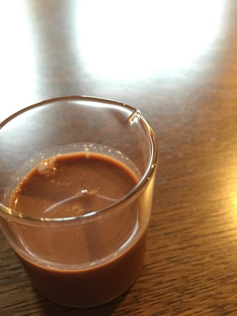 喫茶 クローク ジャーに詰め込んだパフェ 半カフェモカ