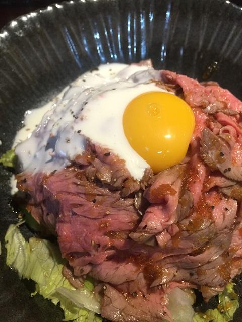 肉屋食堂 ローストビーフ丼