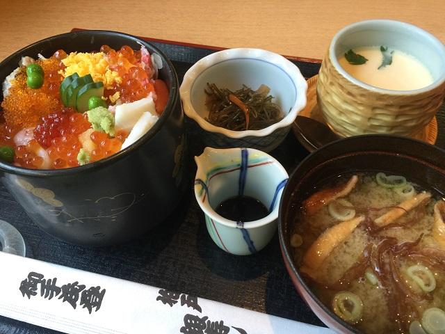 柏戸銀寿司 茶わん蒸しセット