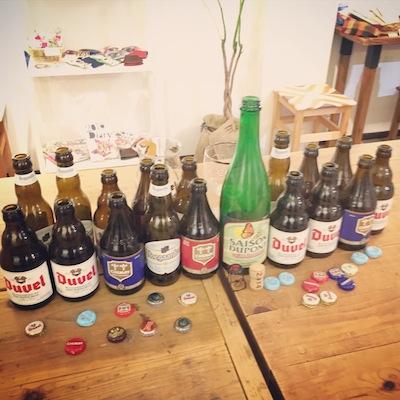 ベルギー1空き瓶