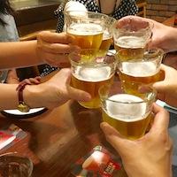 201605ベルギービール3乾杯