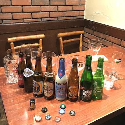 201605ベルギービール3本日のラインナップ