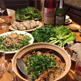 2016 05 14 ベトナム料理教室とワイン