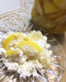 2016 09 19 レモン酢 カッテージチーズ