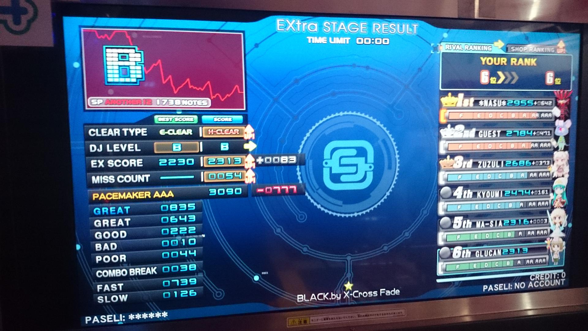 黒xハード