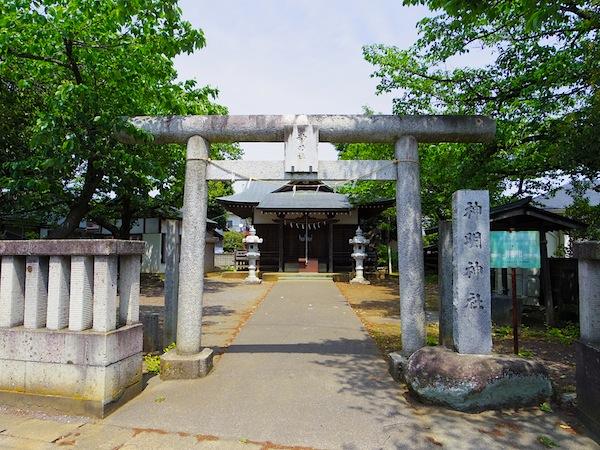 「神明社の古墳」