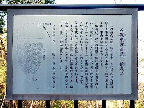 「谷保東方横穴墓」