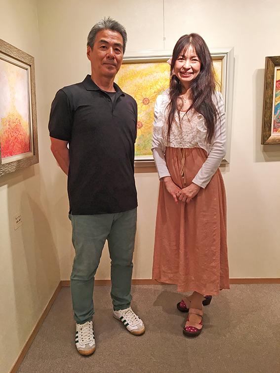 渥美靖子さんと私