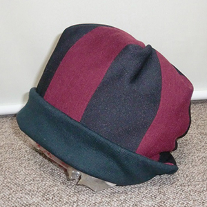 ニット リバーシブル帽