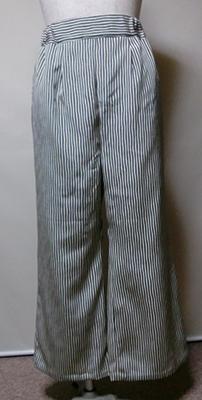 正絹着物からワイドパンツ