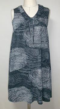 大島紬の羽織から ワンピース 見本