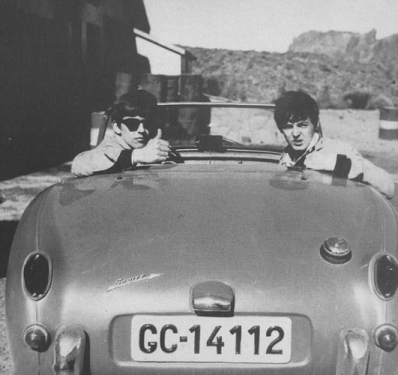 The-Beatles&Austin-Healey-Sprite-Mk-1
