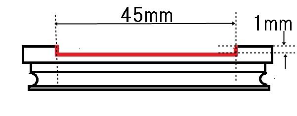 cap side draw