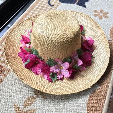 ハワイアン帽子