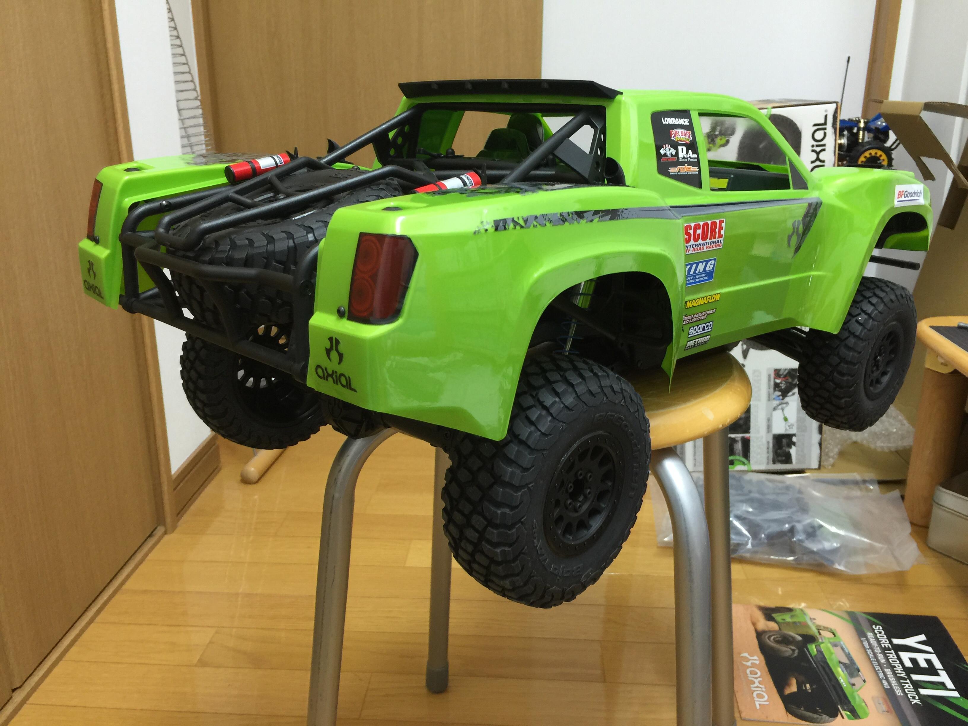 works garage yoko r axial yeti score trophy truck