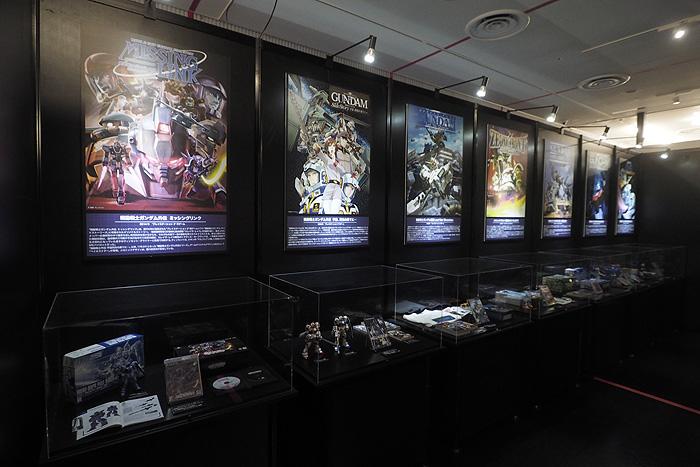 ガンダムゲーム30周年展 009