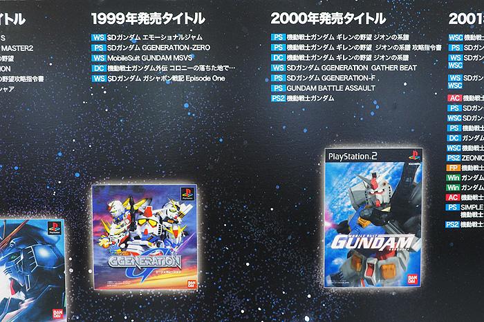 ガンダムゲーム30周年展 034