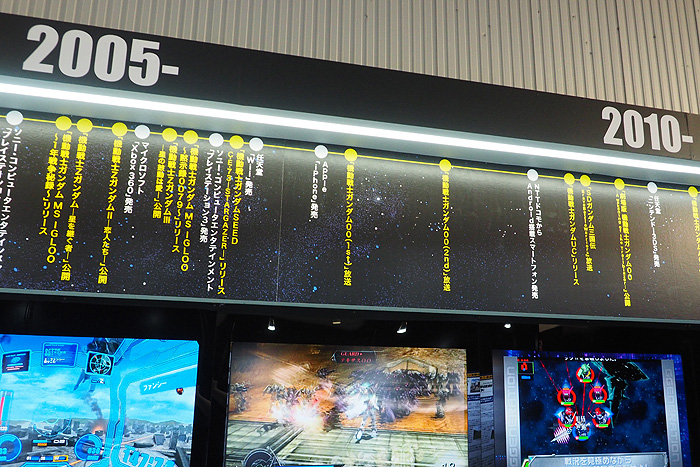 ガンダムゲーム30周年展 026