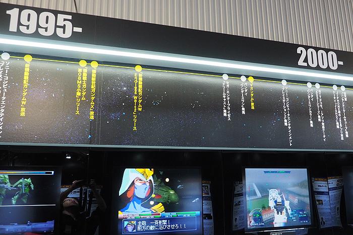 ガンダムゲーム30周年展 024