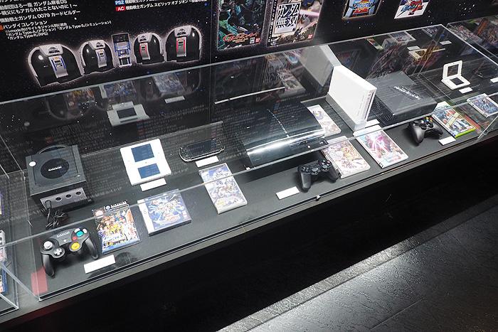 ガンダムゲーム30周年展 067