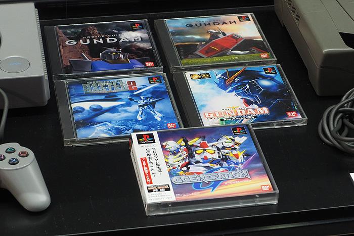 ガンダムゲーム30周年展 057
