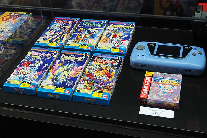 ガンダムゲーム30周年展 052