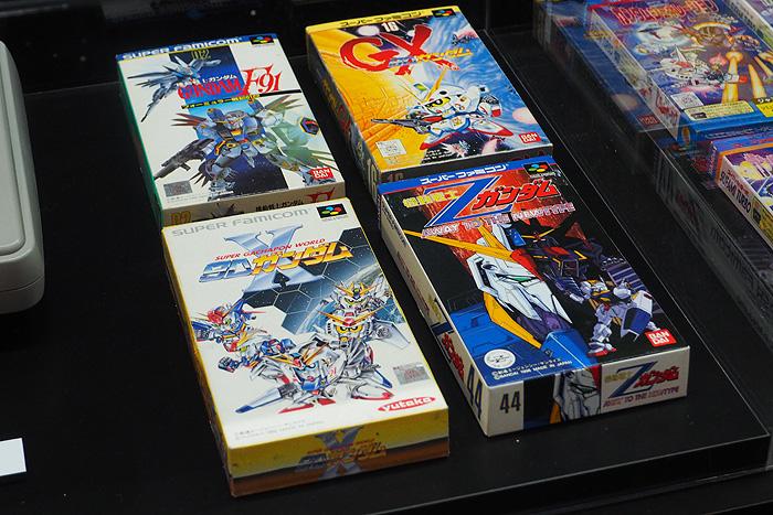 ガンダムゲーム30周年展 050