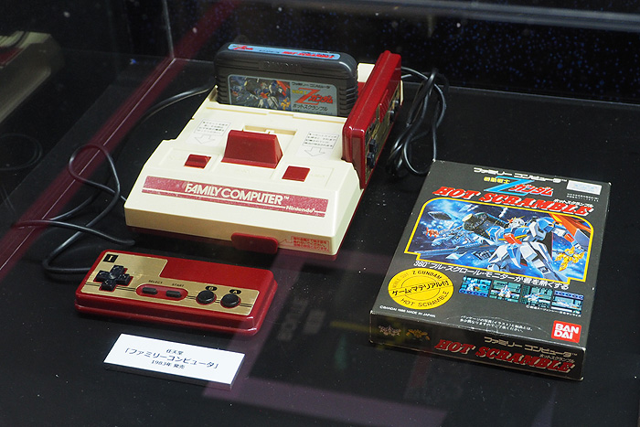 ガンダムゲーム30周年展 043