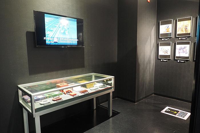 ガンダムゲーム30周年展 041