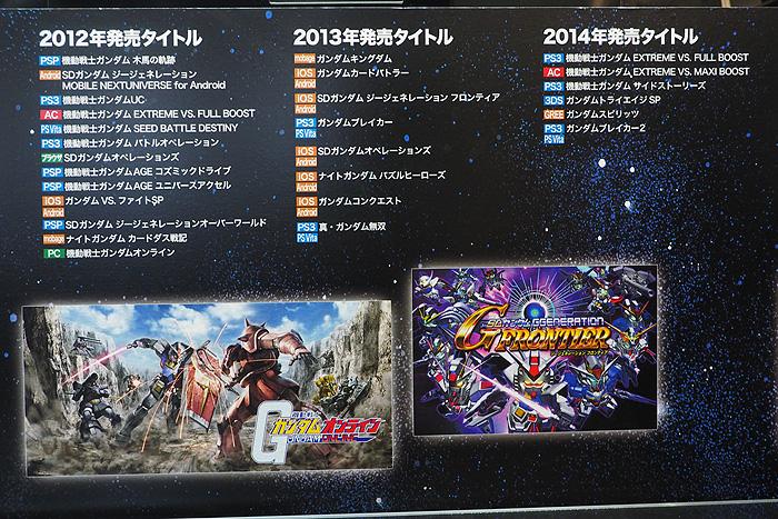 ガンダムゲーム30周年展 039