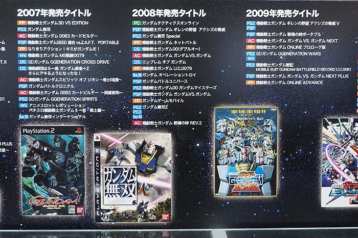 ガンダムゲーム30周年展 037