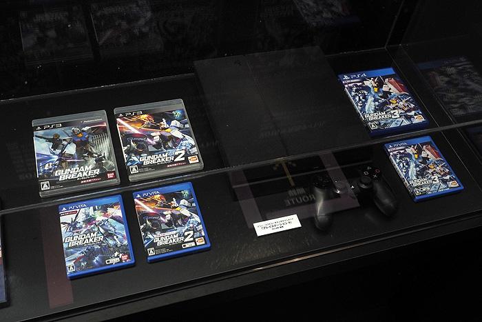 ガンダムゲーム30周年展 074