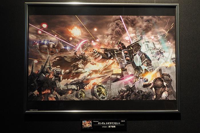 ガンダムゲーム30周年展 095
