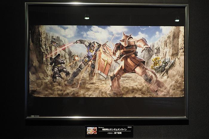 ガンダムゲーム30周年展 094