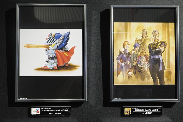 ガンダムゲーム30周年展 086