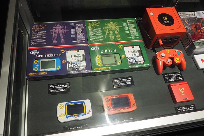 ガンダムゲーム30周年展 076
