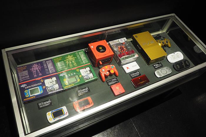 ガンダムゲーム30周年展 075