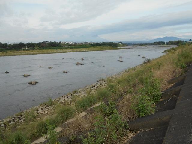 平成28年09月14日 午前8時半頃の利根川
