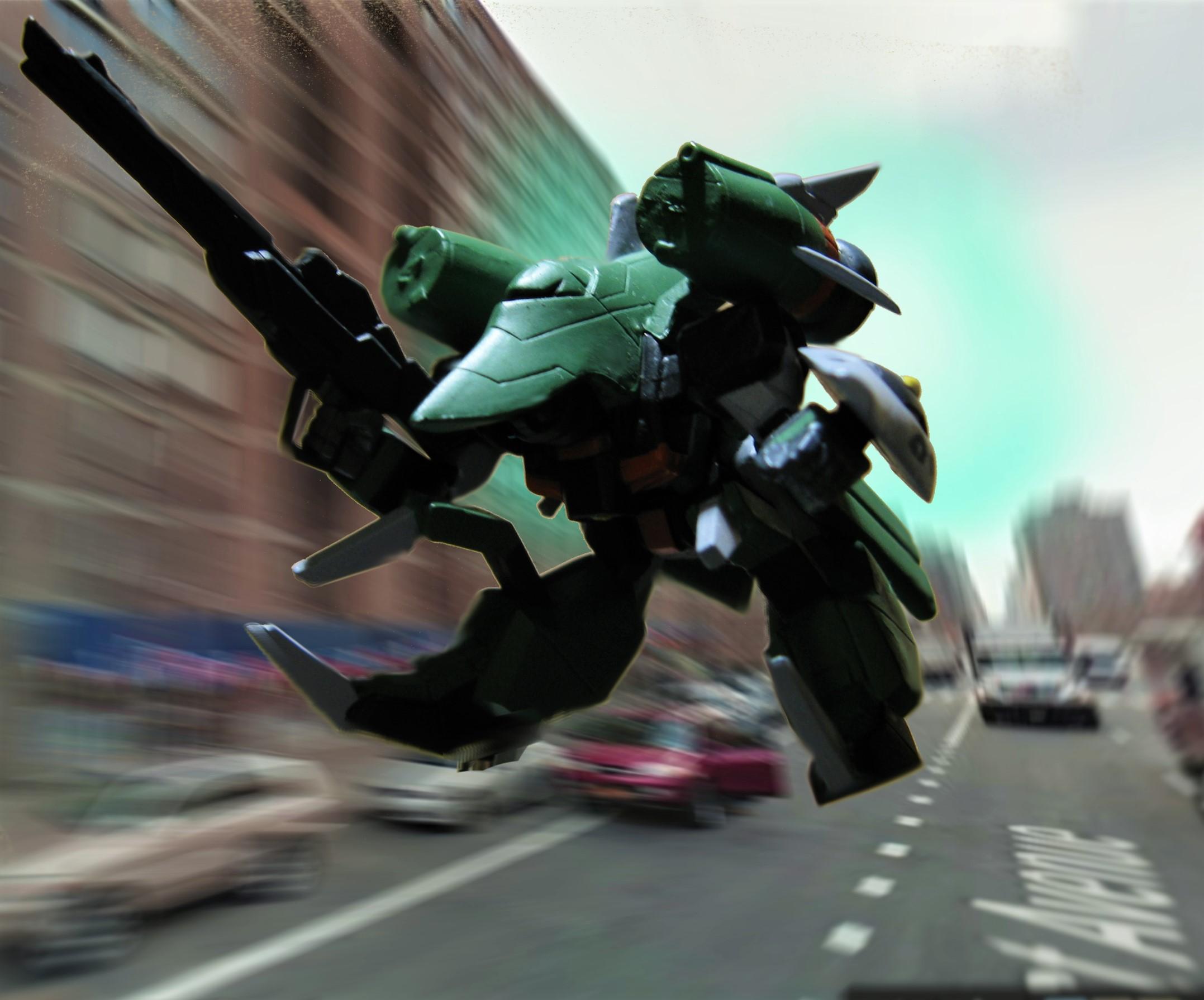 ZGMF-X24S カオスガンダム デジラマ Chaos Gundam Gジェネ ジェネレーション 戦争 マンハッタン モンスター